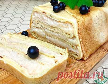 Блинный торт с яблоками – кулинарный рецепт