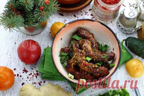 Куриные шейки в духовке | Волшебная Eда.ру