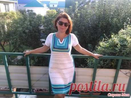 Платье-туника крючком - Вязание - Страна Мам