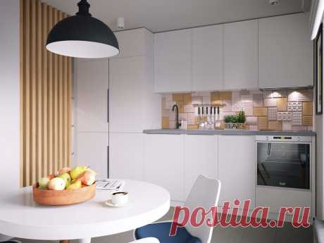 Дизайн интерьера кухни 8 кв. м., идеи и варианты планировки маленькой комнаты, расстановка мебели и техники