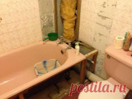 История ремонта в ванной комнате — Pro ремонт