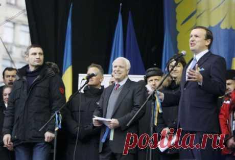 На Украину едет ревизор: Джон Маккейн - «герой», проигравший все свои сражения