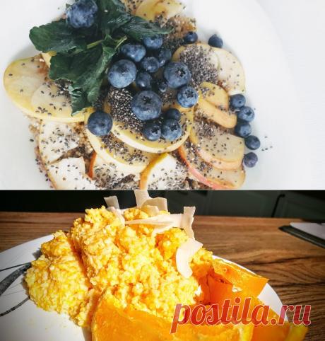 7 простых и полезных завтраков для всей семьи.