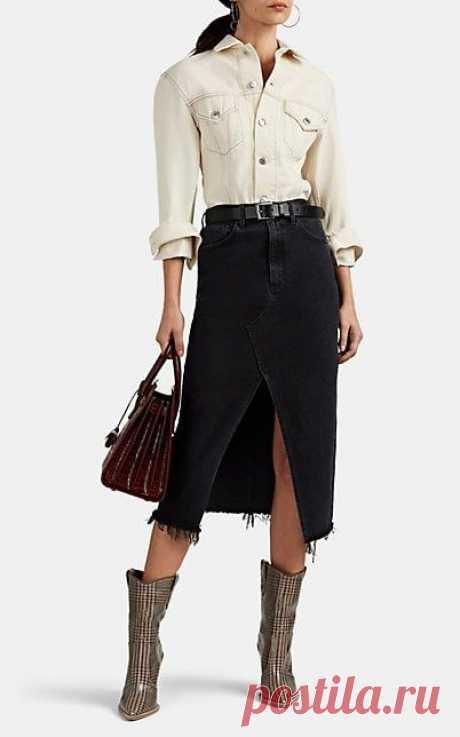 Юбки из джинсов (подборка)