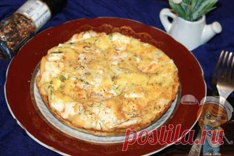 Пирог из лаваша с сыром, рецепт рваного пирога в духовке