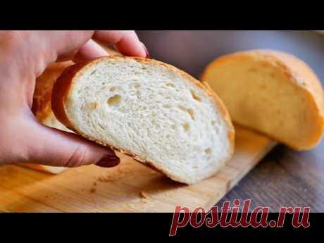 Молочный ХЛЕБ 🍞 Простой Рецепт Приготовления Домашнего Хлеба