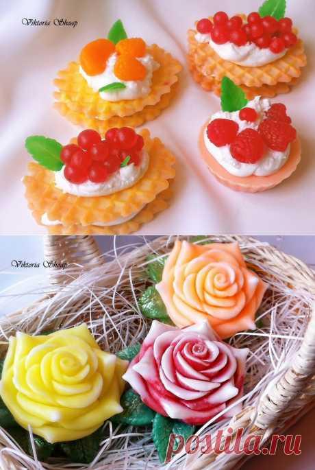 Цветочки и вкусняшки на 8-е марта) - Сообщество «Рукоделие» / Рукоделие