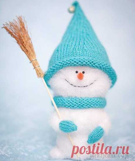 Милый снеговичок