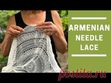 Needle Lace for Beginners (Part 8 of 8) - YouTube