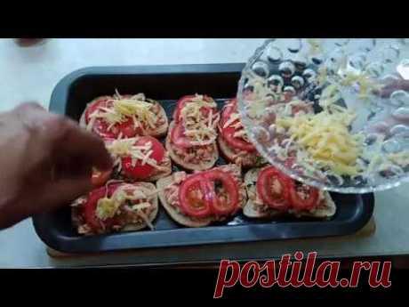 Готовим вкусные горячие бутерброды - YouTube