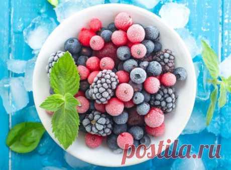 Тайные хитрости заморозки ягод, фруктов, овощей