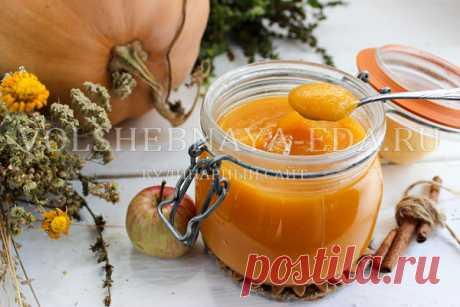 Варенье из тыквы с яблоками | Волшебная Eда.ру