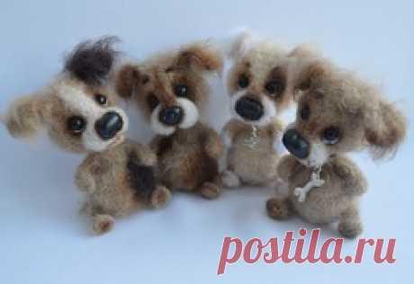 Собака - друг человека - Страница 351 - Галерея вязалок - Форум почитателей амигуруми (вязаной игрушки)
