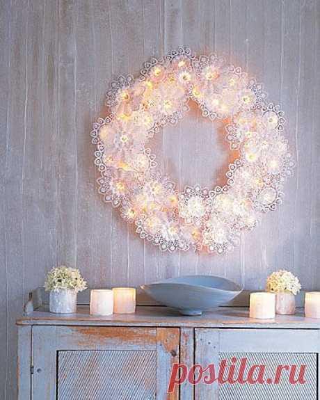 Эффектное украшение дома (мастер-класс) / Праздничный декор / Модный сайт о стильной переделке одежды и интерьера