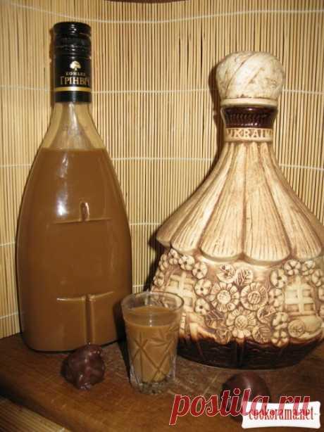Молочно-кофейный и шоколадно-молочный ликеры / Алкогольные напитки / Кукорама — вкусные рецепты!