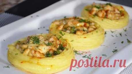 рецепт картофельных гнезд,