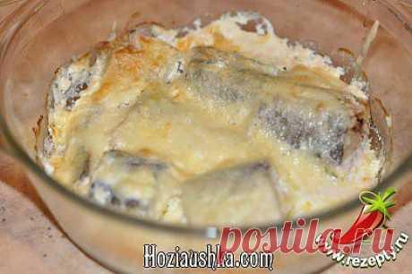 Рецепт - Рыба печеная с хреном