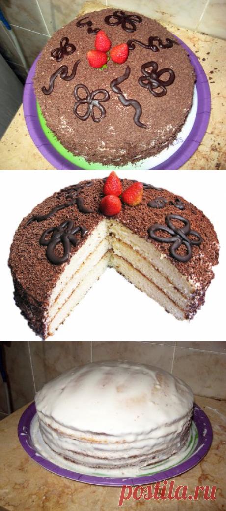"""Торт """"Волшебный"""""""