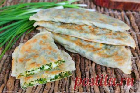 Чуду с зеленым луком - пошаговый рецепт с фото на Повар.ру