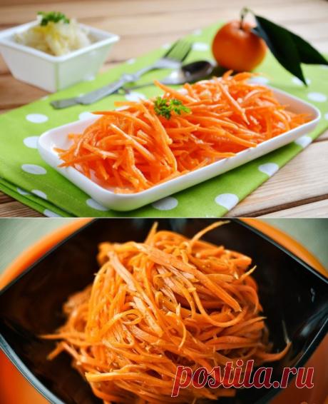 Морковь по-корейски в домашних условиях - 6 лучших рецептов