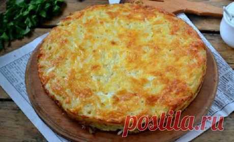 Запеканка из тертого картофеля с сыром и чесноком — простая и очень вкусная — informed news 24