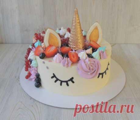 Фото тортов на день рождения девочке 100 вариантов креативного дизайна