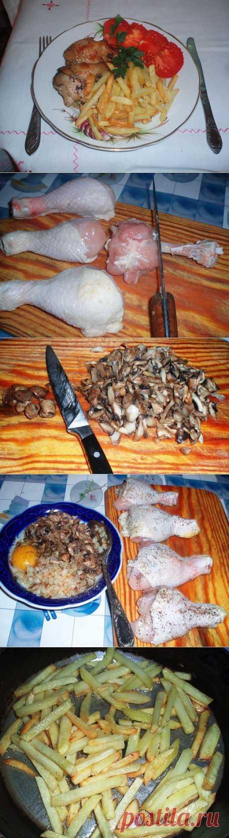 куриные голени | Домашняя еда