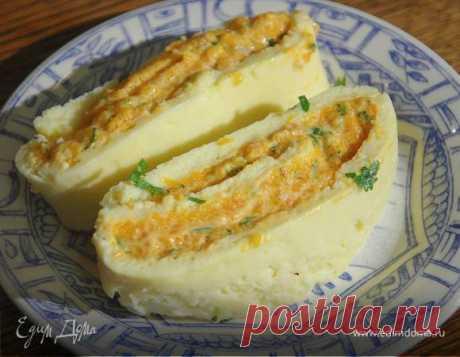 Сырный рулет с тыквой. Ингредиенты: сыр твердый, чеддер, яичные белки | Официальный сайт кулинарных рецептов Юлии Высоцкой
