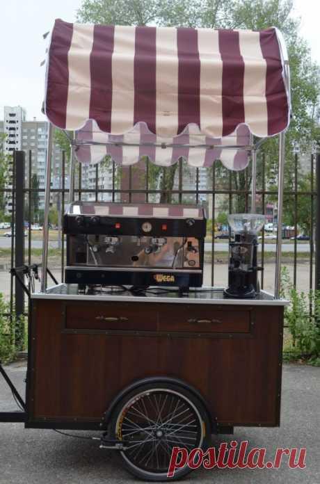 Велокофейня - бизнес под ключ, кофе на колесах - Украина , Киевская обл. , Киев