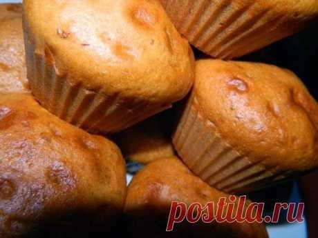 Как приготовить медово-ореховые кексики. - рецепт, ингредиенты и фотографии