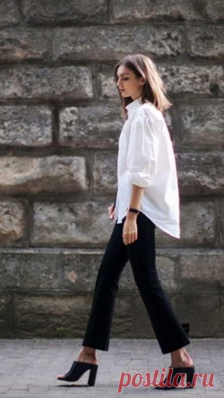 Образы с белыми рубашками — Модно / Nemodno