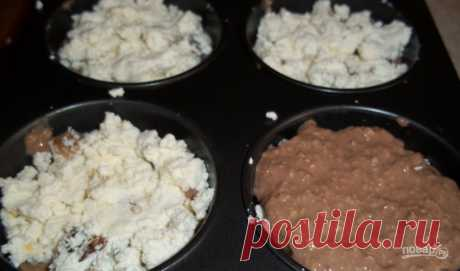 Fitness cheesecakes with a stuffing