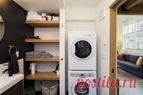 Где и как сушить белье в квартире без балкона: куда поставить сушилку для белья и сушильную машину