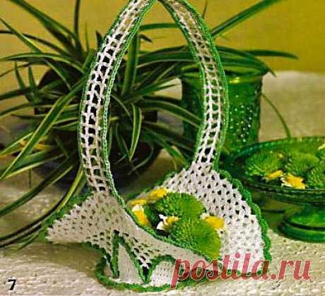 Вязаные вазочки - 22 Апреля 2012 - Блог - Вязаные вещи на заказ