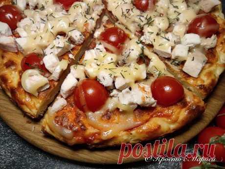 Творожная пицца на плите (хочется готовить снова и снова) | Просто с Марией | Яндекс Дзен