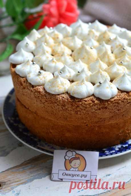 Бисквитный торт на скорую руку - Простые рецепты Овкусе.ру
