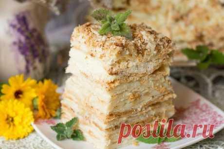 Торт Наполеон - классический рецепт советского времени с пошаговыми фото | Все Блюда