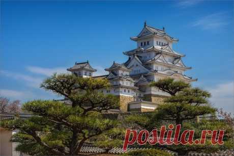 «Парящий в небесах» Волшебный замок Химэдзи в префектуре Хиого (Япония). Снимала Светлана: nat-geo.ru/community/user/226232