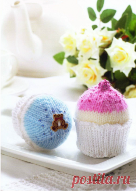 Knitted Cakes (Twenty to Make).
