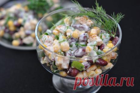 Все смешала и готово: 3 моих любимых салата, для которых не надо варить продукты | Foodbook | Яндекс Дзен