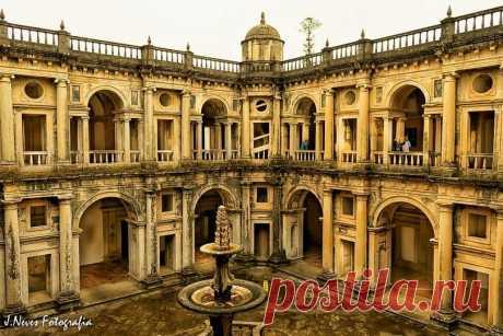Convento de Cristo em Tomar, Portugal.s