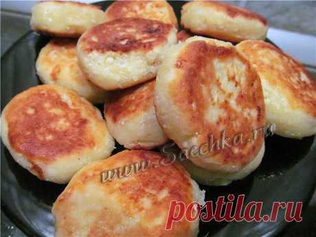 Сырники в духовке - рецепт с фото Сырники приготовлены из творога с манкой в духовке, получились вкусными.