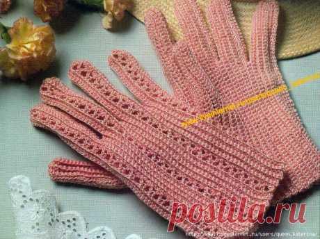 Gloves are female