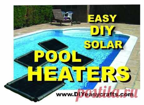 Легкий нагреватель солнечного бассейна DIY | Hometalk