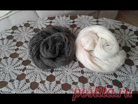 Пуловер - наволочка. Часть 1//  Knitting Pullover // Pullover verbunden Speichen - YouTube
