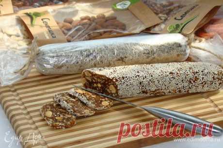 Финиковая колбаска рецепт 👌 с фото пошаговый | Едим Дома кулинарные рецепты от Юлии Высоцкой