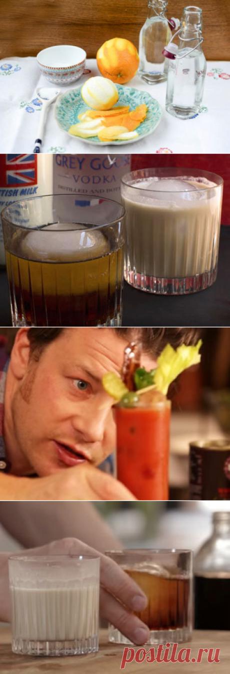 Коктейли с водкой | Рецепты Джейми Оливера