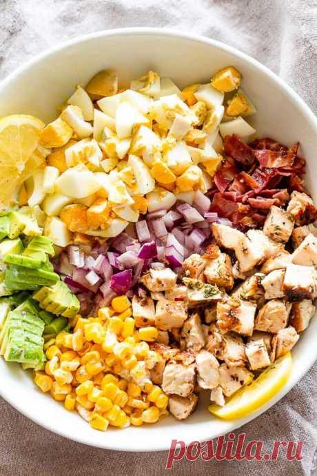Три восхитительных салата с курицей | Поделки, рукоделки, рецепты | Яндекс Дзен