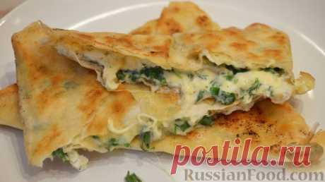 La receta: la Colación ±ka con la verdura en RussianFood.com