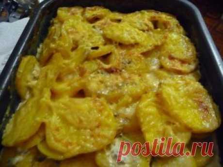 Блюдо из картошки затмило жареную и пюре Картофель с овощами, запеченный в сливках